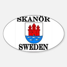 The Skanör Store Oval Decal