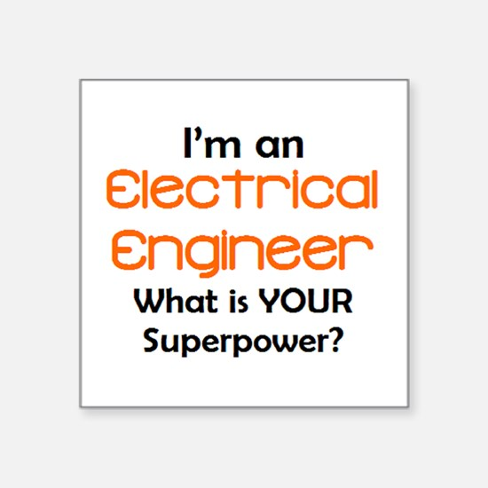 "electrical engineer2 Square Sticker 3"" x 3"""