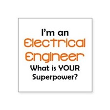"""electrical engineer Square Sticker 3"""" x 3"""""""