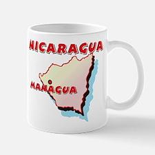 Nicaragua Map Mug