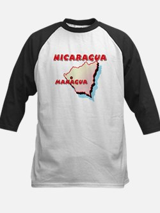 Nicaragua Map Tee