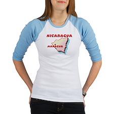 Nicaragua Map Shirt