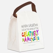 creatively maladjusted Canvas Lunch Bag