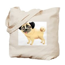 Pug Puppy (SPR) Tote Bag
