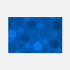 Blue on blue dots Magnets