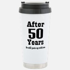 Cute Anniversary Travel Mug