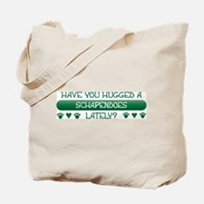 Hugged Schapendoes Tote Bag