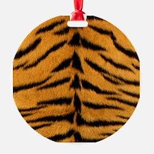 Tiger Fur Print Ornament