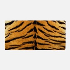 Tiger Fur Print Beach Towel