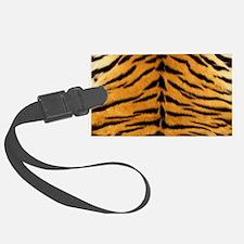 Tiger Fur Print Luggage Tag