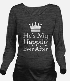 Couples Fairy Tale Long Sleeve Maternity T-Shirt