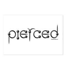Pierced Postcards (Package of 8)