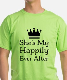 Happily Ever After Mens T-Shirt
