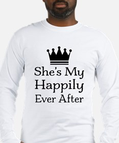 Happily Ever After Mens Long Sleeve T-Shirt