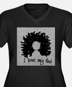 afro love Plus Size T-Shirt