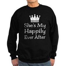 Mens Couples Fairytale Quote Sweatshirt
