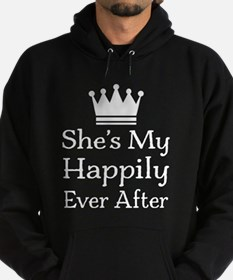 Mens Couples Fairytale Quote Hoody