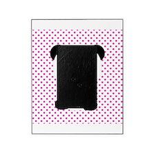 Panda Bear on Pink Polka Dots Picture Frame