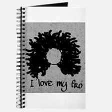 Funny Curly Journal