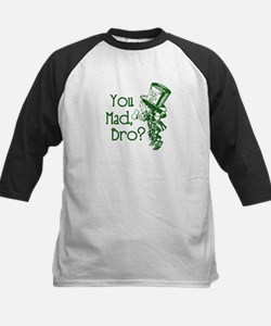 You Mad, Bro? (Mad Hatter) Baseball Jersey