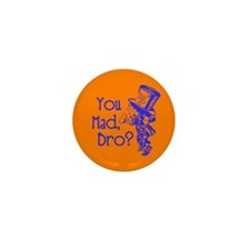 Cute You mad bro Mini Button