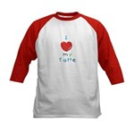 Jewish Kids Love Tatte Kids Baseball Jersey