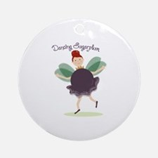 Dancing Sugarplum Ornament (Round)