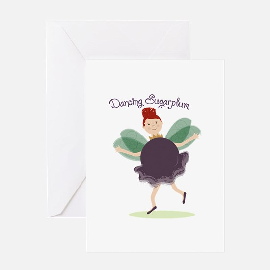 Dancing Sugarplum Greeting Cards