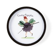 Dancing Sugarplum Wall Clock