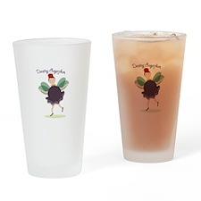 Dancing Sugarplum Drinking Glass
