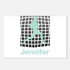Mint Jogging Personalized Postcards (Package of 8)