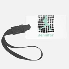 Mint Jogging Personalized Luggage Tag
