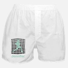 Mint Jogging Personalized Boxer Shorts