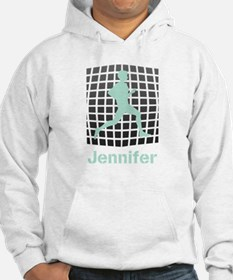 Mint Jogging Personalized Hoodie