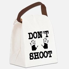 Don't Shoot Canvas Lunch Bag