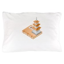 Chinese Temple Book Pillow Case