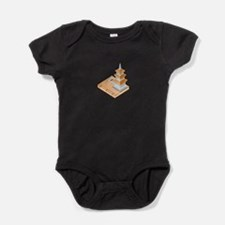 Chinese Temple Book Baby Bodysuit