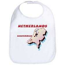 Netherlands Map Bib