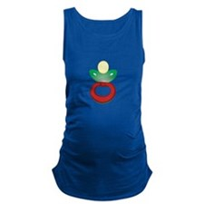 Pacifier Maternity Tank Top