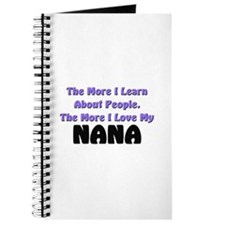more I learn about people, more I love my NANA Jou