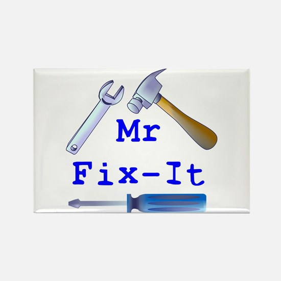 Mr Fix It Rectangle Magnet (10 pack)