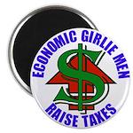 Girlie Men Raise Taxes Magnet (100 pk)