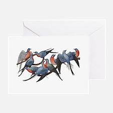 Passenger Pigeons Greeting Card