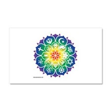 Cute Hindu Car Magnet 20 x 12