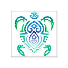 """Unique Ocean Square Sticker 3"""" x 3"""""""