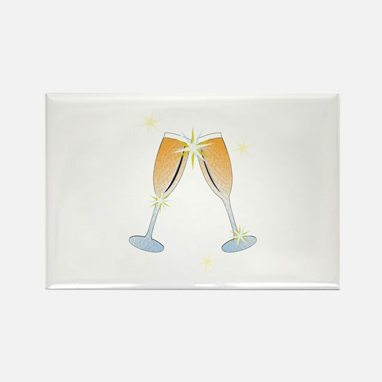 Champagne Toast Magnets
