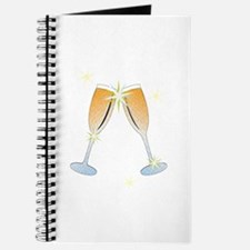 Champagne Toast Journal