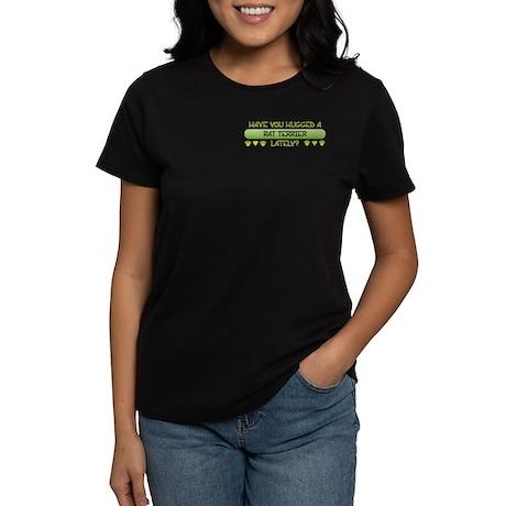 Hugged Terrier Women's Dark T-Shirt