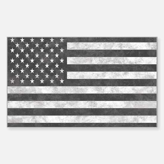 Tactical Subdued Military US Flag Decal