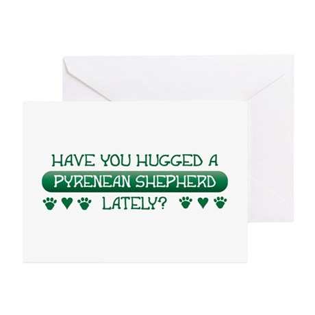 Hugged Pyrenean Greeting Cards (Pk of 10)